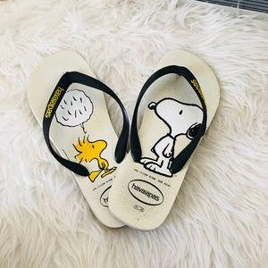 Snoopy Havaianas sandals 41/42